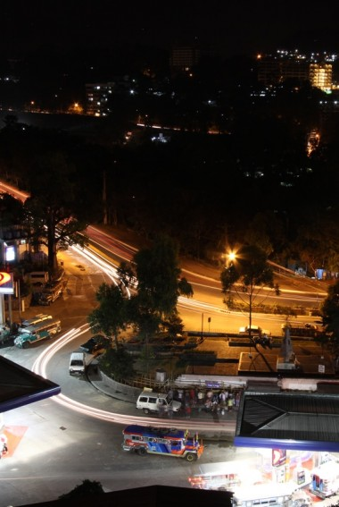 Baguio by night